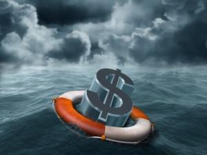 image Dollar rescue adrift sea