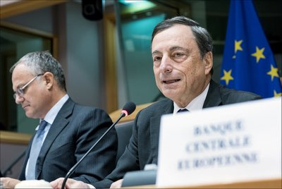 ECB Lifts Economic Growth Forecasts for 2017 to 2.4%