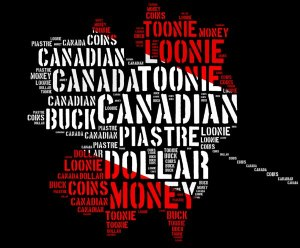 image - cad Canada monetary concept