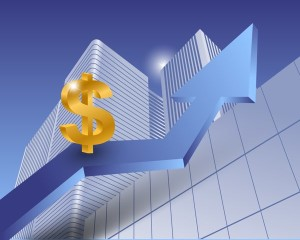 Dollar sign as a successful currency