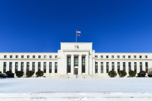 Federal Reserve Building in Winter - Washington DC, United States