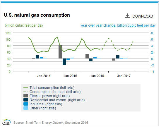 NaturalGas Consumptiom