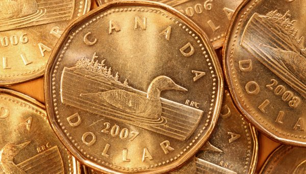 Loonie Plummets on Weak Data