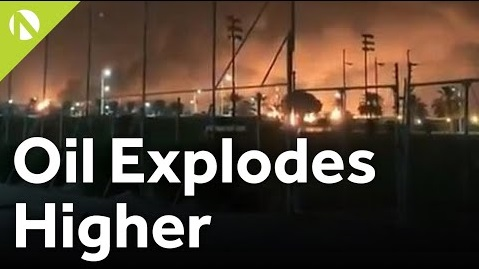 Oil explodes higher (video)