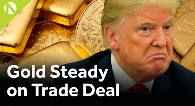 Gold – Steady after trade deal (video)