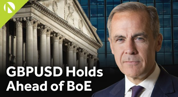 GBP/USD – Holds ahead of BoE (video)