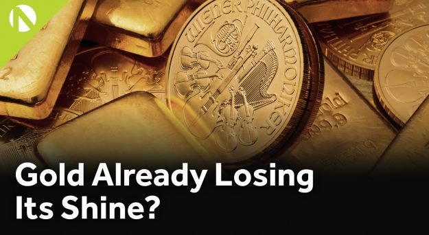 Gold Losing Its Shine?