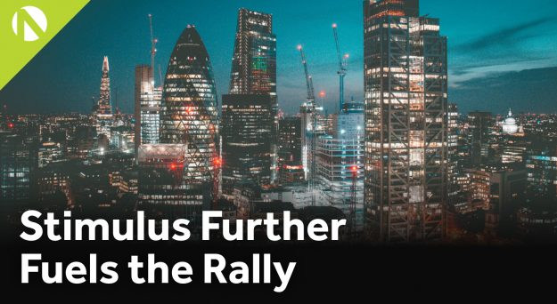 UK100 – Stimulus further fuels the rally