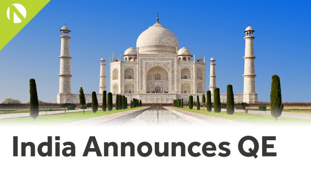 India announces QE