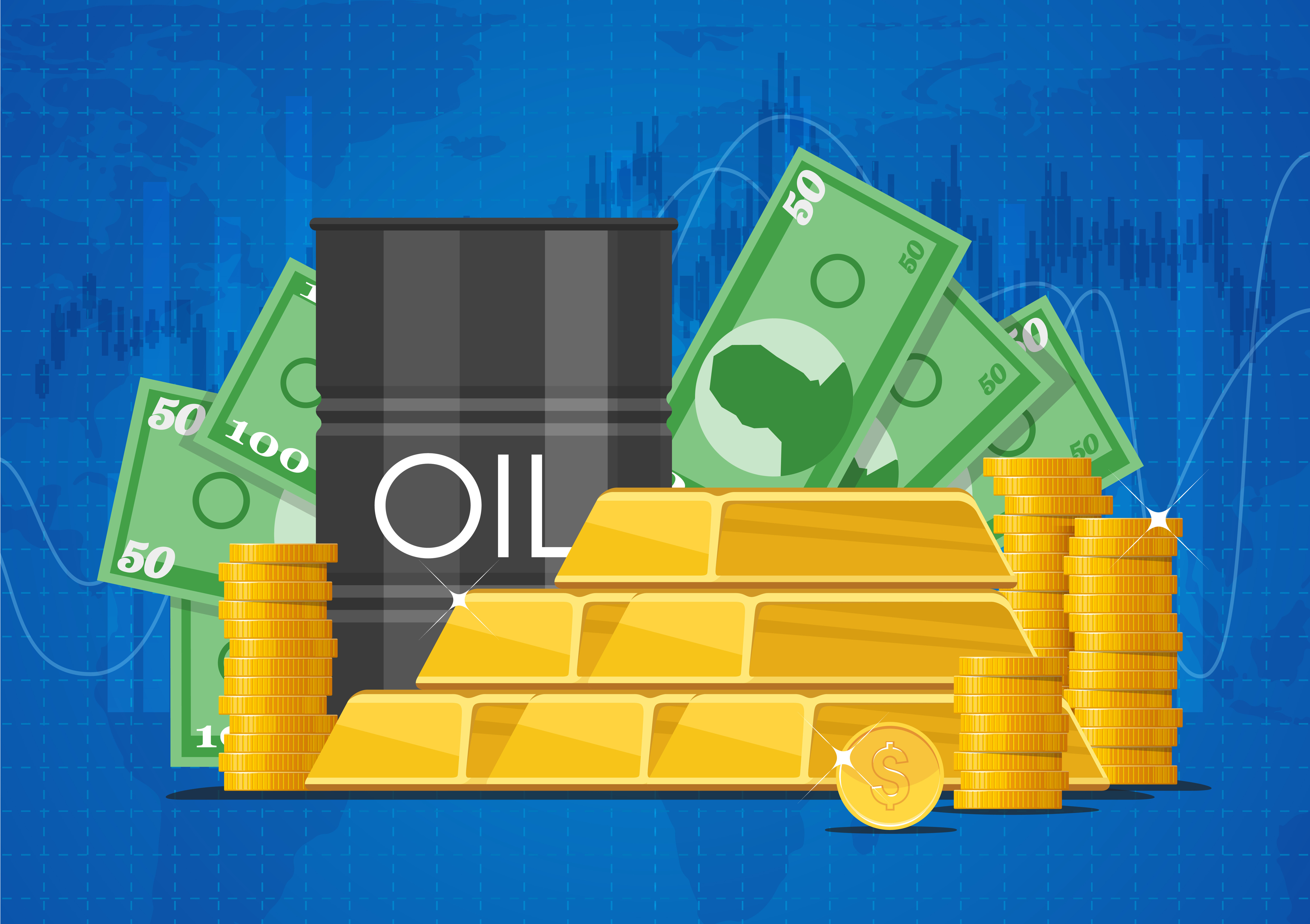 Oil rises, gold slips after rally